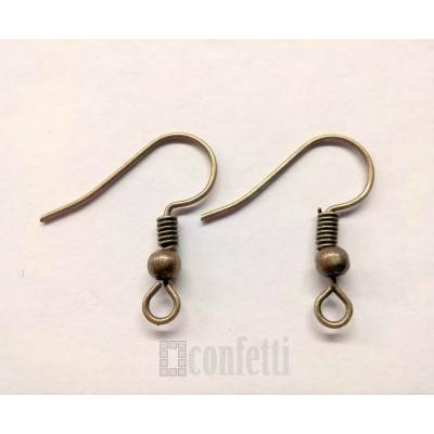 Швензы-крючки железные с  шариком и пружинкой