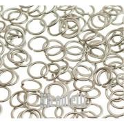 Колечки соединительные 3 мм платина (10 шт)