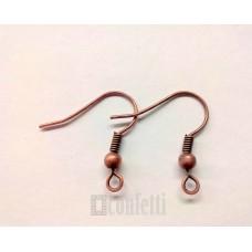Швензы-крючки латунные, 19*17, медь, F00117