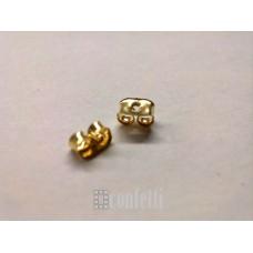 Заглушки для швенз (стопперы), желтое золото, F00175