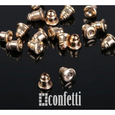 Заглушки для серег с силиконовой вставкой