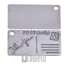 Подвеска Почтовая карточка