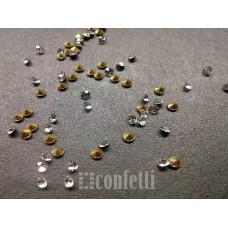 Стразы ювелирные, 2 мм, бесцветные