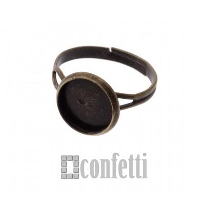 Основа для кольца с площадкой под заливку