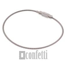 Основа для детского браслета с винтовым замочком, F01015