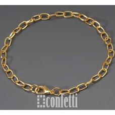 Основа для браслета с латунным замочком, F01021