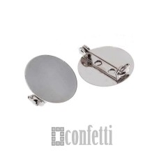 Основа для броши с площадкой 20 мм, F01081