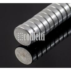 Магниты для сувениров сильные, 8*2 мм