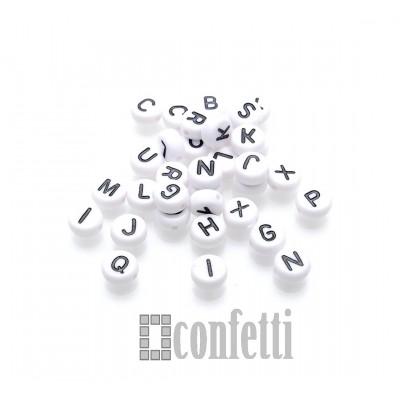 Бусины буквы