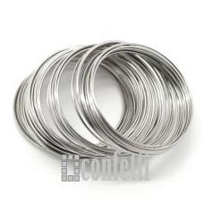 Мемори проволока, 60*1 мм, платина, F01507
