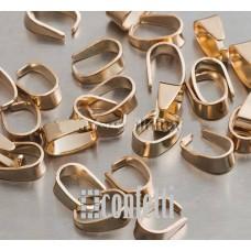 Держатель для кулонов, 8*6*4 мм, русское золото, F01644
