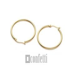 Швензы-кольца из хирургической стали, диаметр 40 мм, позолоченные, F01669