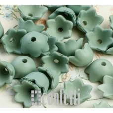 Акриловые цветы Ландыш, зеленые, R00196