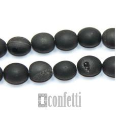 Бусины под пирит 8 мм, черный