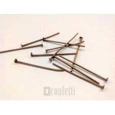 Штифт (пин) - гвоздик 26 мм, бронза (10 шт)