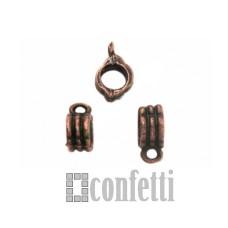 Бейл для бижутерии, цвет медь, F01280