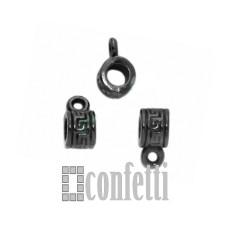 Бейл для бижутерии, цвет черный, F01285