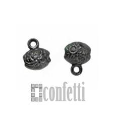 Бейл для бижутерии, цвет черный, F01288