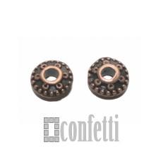 Спейсеры 8*8*4 мм медь, F01363