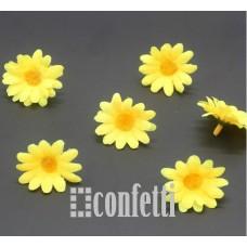 Цветок ромашки, желтый, 3,5 см, R00218