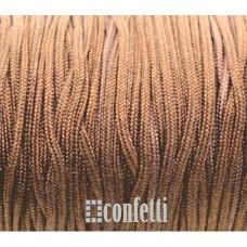 Шнур нейлоновый коричневый для браслетов шамбала, F00940