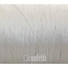 Шнур нейлоновый белый для браслетов шамбала, F00941