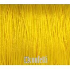 Шнур нейлоновый желтый для браслетов шамбала, F00942