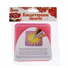 Набор матов для моделирования и сушки цветов из мастики, 2 шт