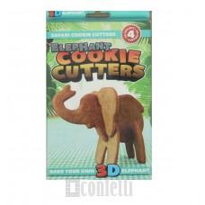 """Набор форм для вырезания печенья 3D """"Слон"""""""