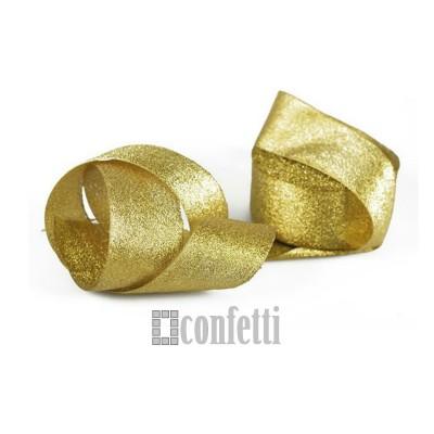 Лента парчовая 40 мм, золото