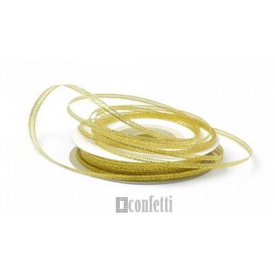Лента парчовая 6 мм, золото