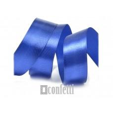 Лента атласная 25 мм, ярко-синяя