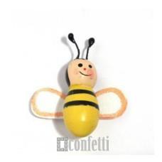 Пчелка на клеевой основе, 37 мм