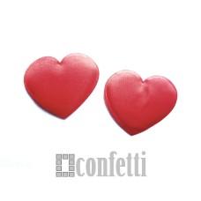Патч Сердце красное, 46*43 мм